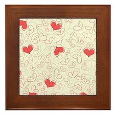 Forever Hearts  Framed Tile