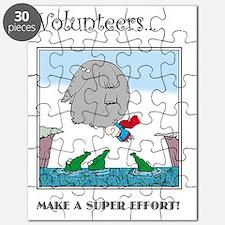 Volunteers Make A Super Effort! Puzzle