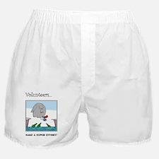 Volunteers Make A Super Effort! Boxer Shorts