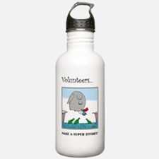 Volunteers Make A Supe Sports Water Bottle