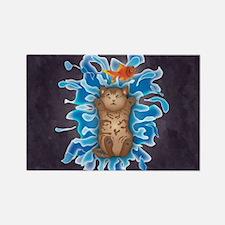Water Splash Cat Goldfish Magnets