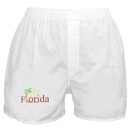 Florida Palm Boxer Shorts
