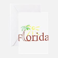 Florida Palm Greeting Cards (Pk of 10)