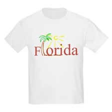Florida Palm Kids T-Shirt