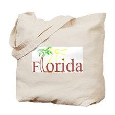 Florida Palm Tote Bag