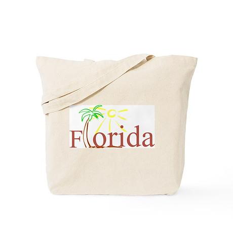 Florida Palm Tote Bag