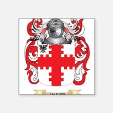 Webb Family Crest (Coat of Arms) Sticker
