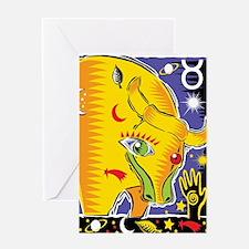 Taurus Greeting Card