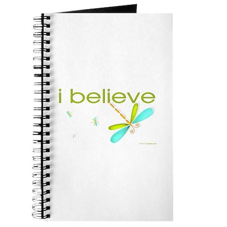 I believe in Dragonflies Journal