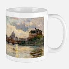St Peter's Rome From The Tiber Mugs