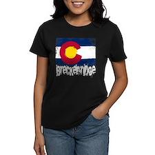 Breckenridge Grunge Flag Tee