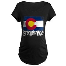 Breckenridge Grunge Flag T-Shirt