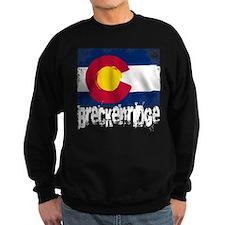 Breckenridge Grunge Flag Sweatshirt