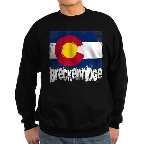 Breckenridge Grunge Flag Sweatshirt (dark)