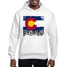 Breckenridge Grunge Flag Hoodie