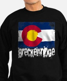 Breckenridge Grunge Flag Sweatshirt