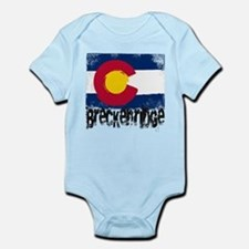 Breckenridge Grunge Flag Infant Bodysuit