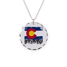 Breckenridge Grunge Flag Necklace