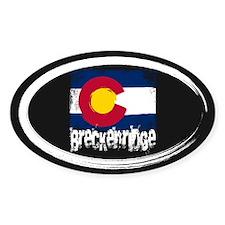 Breckenridge Grunge Flag Decal