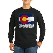 Breckenridge Grunge Flag T