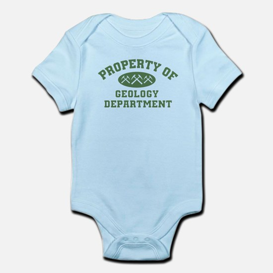 Property Of Geology Department Body Suit