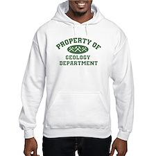 Property Of Geology Department Hoodie