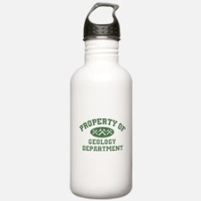 Property Of Geology Department Water Bottle