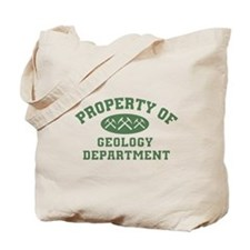 Property Of Geology Department Tote Bag