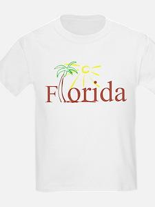 Florida Palm Kids T-Shirt