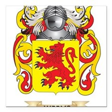 Weems Family Crest (Coat of Arms) Square Car Magne