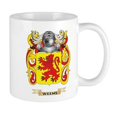 Weems Family Crest (Coat of Arms) Mugs