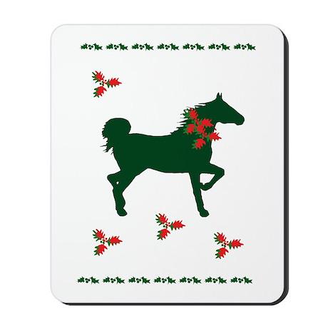 Equine Christmas Mousepad
