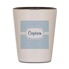 Captain/Anchor  Shot Glass