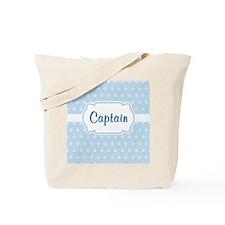 Captain/Anchor  Tote Bag