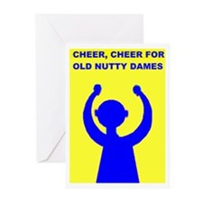 OLD NUTTY DAMES Greeting Cards (Pk of 10)