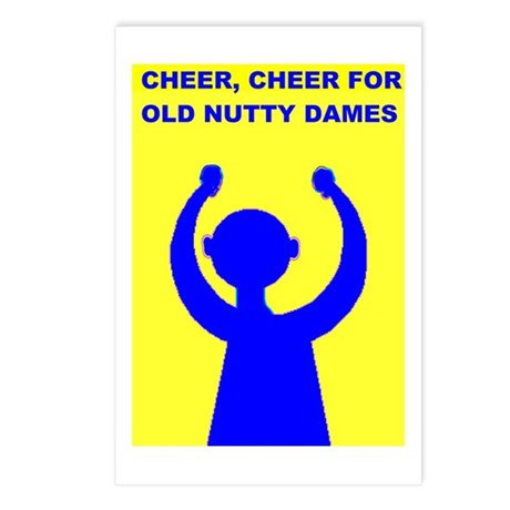 OLD NUTTY DAMES Postcards (Package of 8)