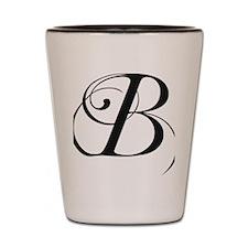 B Shot Glass