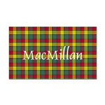 Tartan - MacMillan Rectangle Car Magnet