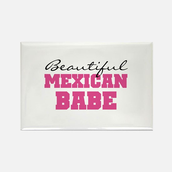 Mexican Babe Rectangle Magnet