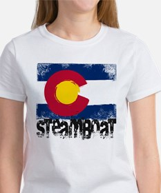 Steamboat Grunge Flag Women's T-Shirt