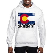Steamboat Grunge Flag Hoodie