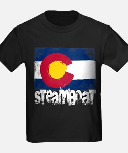 Steamboat Grunge Flag T