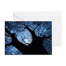 Night Sky Greeting Card