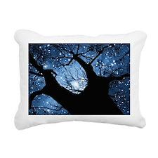 Night Sky Rectangular Canvas Pillow