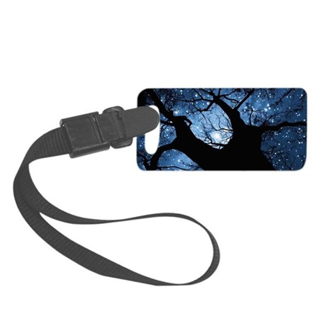Night Sky Small Luggage Tag