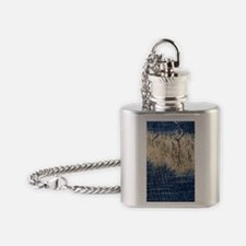 Ripped Jeans Flask Necklace