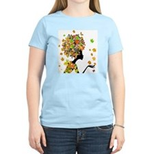 Flower Power Lady T-Shirt