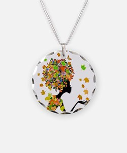 Flower Power Lady Necklace