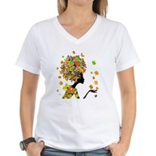Flower Power Lady Shirt