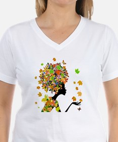Flower Power Lady Shirt